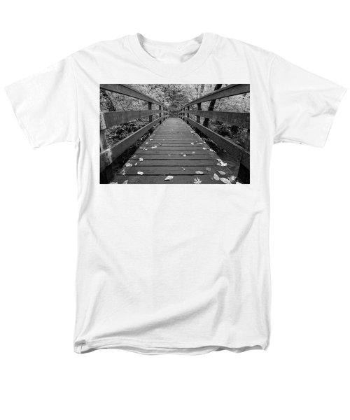 Fall In Oregon Bw Men's T-Shirt  (Regular Fit) by Jonathan Davison