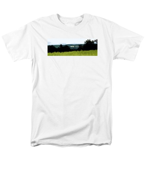 Farm In The Valley Men's T-Shirt  (Regular Fit) by Spyder Webb