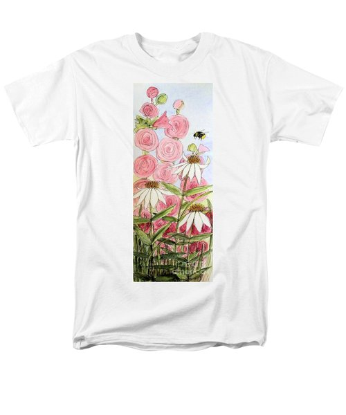 Farmhouse Garden Men's T-Shirt  (Regular Fit) by Laurie Rohner