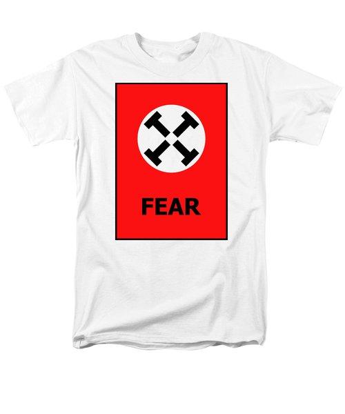 Fear Men's T-Shirt  (Regular Fit) by Richard Reeve