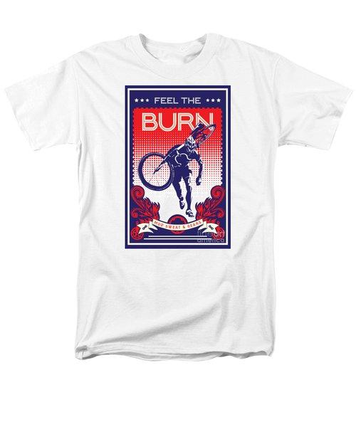 Feel The Burn Men's T-Shirt  (Regular Fit) by Sassan Filsoof