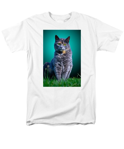 Feline Shine Men's T-Shirt  (Regular Fit) by Brian Stevens