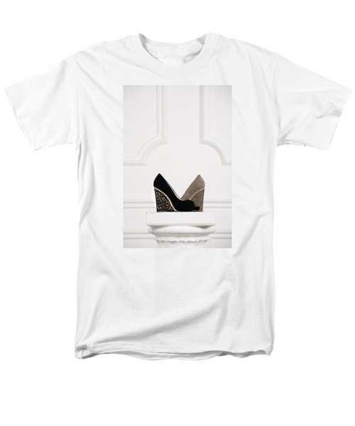 Men's T-Shirt  (Regular Fit) featuring the photograph Female Shoes by Andrey  Godyaykin