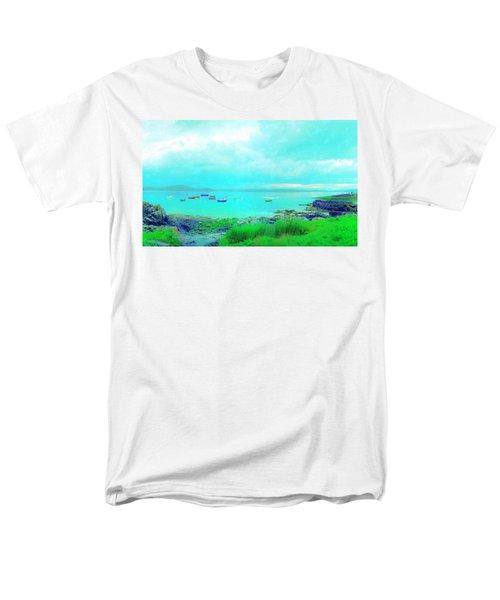 Ferry Wake Men's T-Shirt  (Regular Fit)