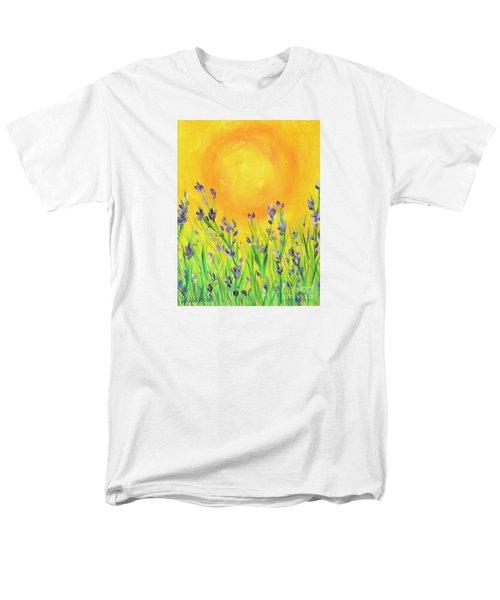 Field Sunset Men's T-Shirt  (Regular Fit) by Val Miller