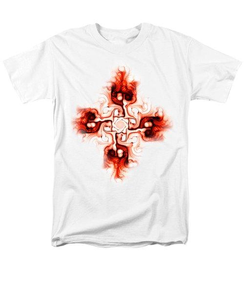 Fiery Cross Men's T-Shirt  (Regular Fit) by Anastasiya Malakhova