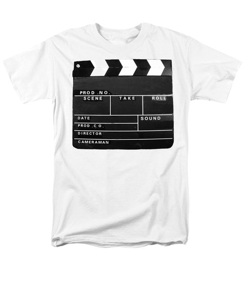 Film Movie Video Production Clapper Board  Men's T-Shirt  (Regular Fit) by Tom Conway