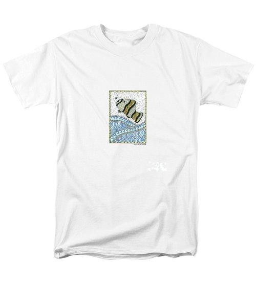 Fish In The Sea Men's T-Shirt  (Regular Fit)
