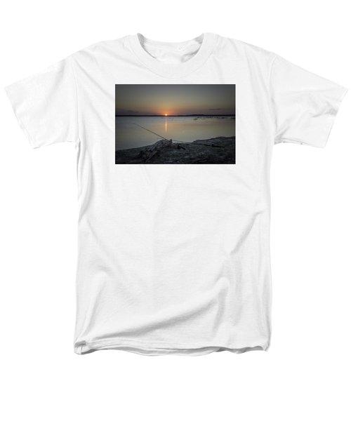 Fishing Poles Men's T-Shirt  (Regular Fit) by Leticia Latocki