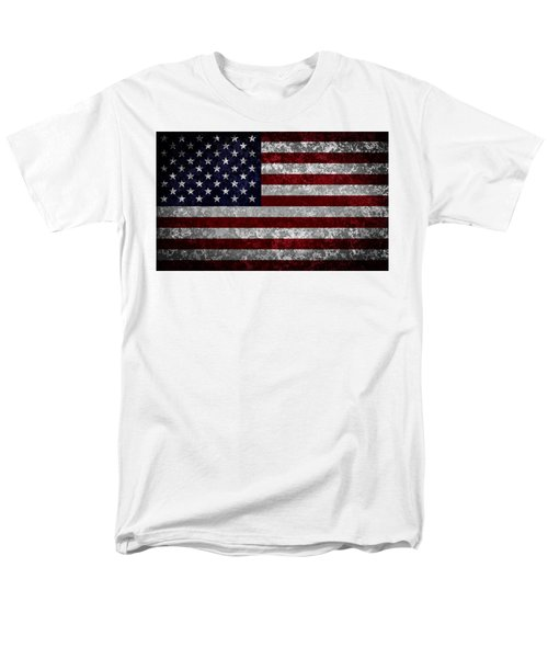 Flag Of The United States Men's T-Shirt  (Regular Fit) by Martin Capek