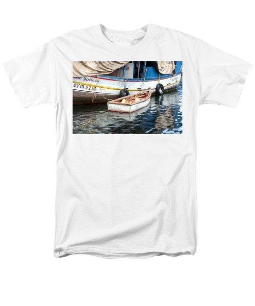 Men's T-Shirt  (Regular Fit) featuring the photograph Floating Market by Allen Carroll