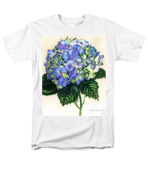 Men's T-Shirt  (Regular Fit) featuring the painting Floral Favorite by Barbara Jewell
