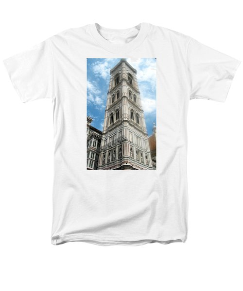 Florence Duomo Tower Men's T-Shirt  (Regular Fit) by Lisa Boyd