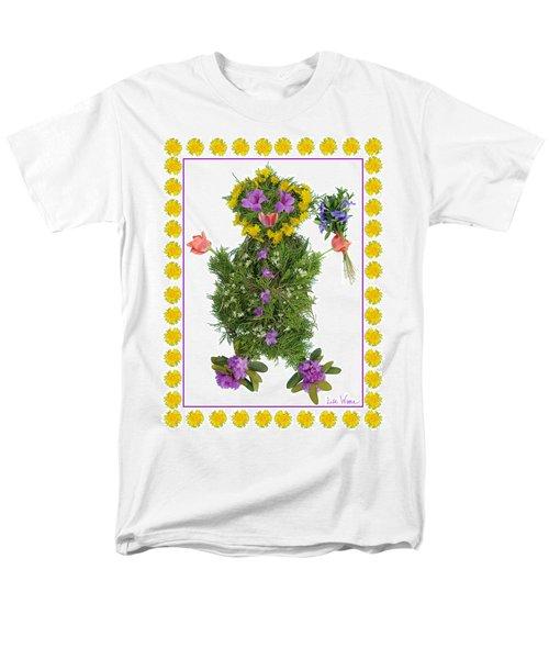 Men's T-Shirt  (Regular Fit) featuring the digital art Flower Baby by Lise Winne