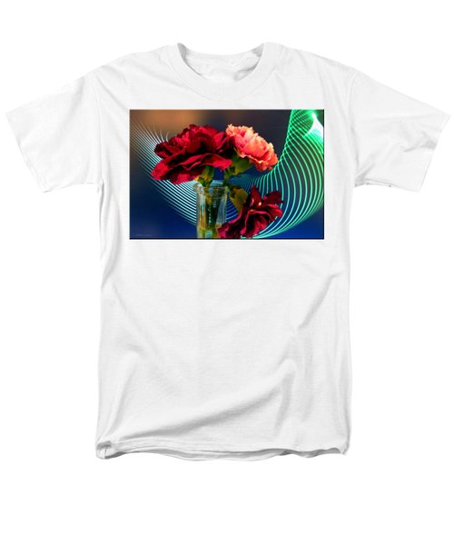 Flower Decor Men's T-Shirt  (Regular Fit) by Mikki Cucuzzo