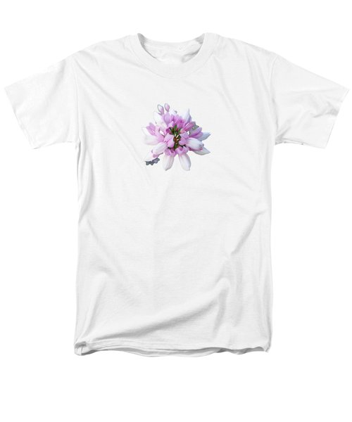 Men's T-Shirt  (Regular Fit) featuring the photograph Flower Securigera Varia 2 by Mike Breau
