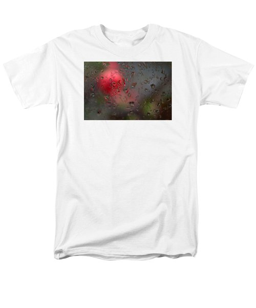 Flower Seen Through The Window Men's T-Shirt  (Regular Fit) by Catherine Lau