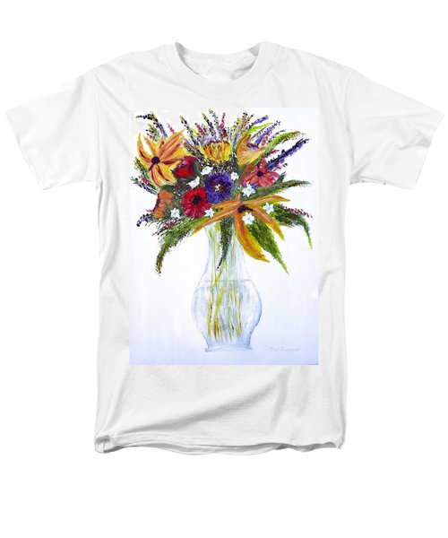 Flowers For An Occasion Men's T-Shirt  (Regular Fit) by Dick Bourgault