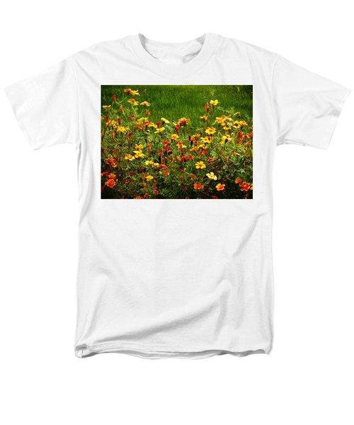 Flowers In The Fields Men's T-Shirt  (Regular Fit) by Joseph Frank Baraba