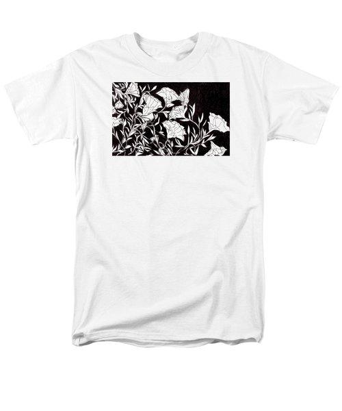 Flowers Men's T-Shirt  (Regular Fit) by Lou Belcher