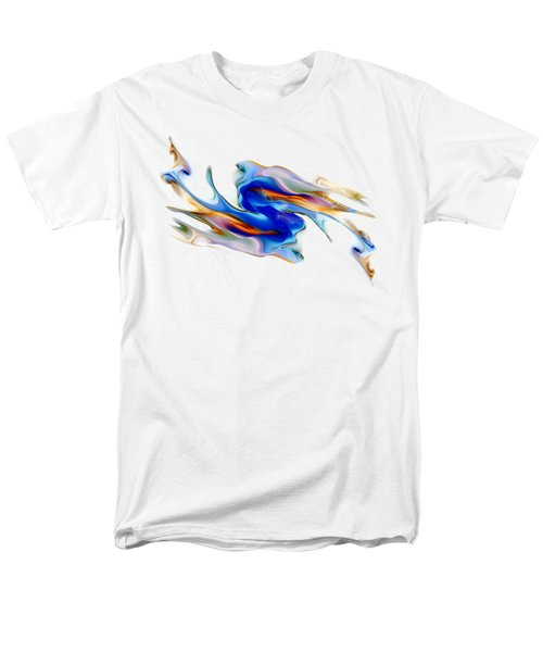 Fluid Colors Men's T-Shirt  (Regular Fit) by Fran Riley
