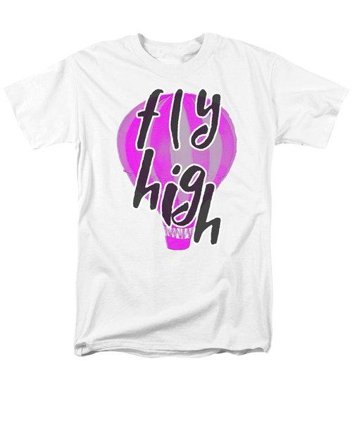 Fly High Men's T-Shirt  (Regular Fit) by Judy Hall-Folde