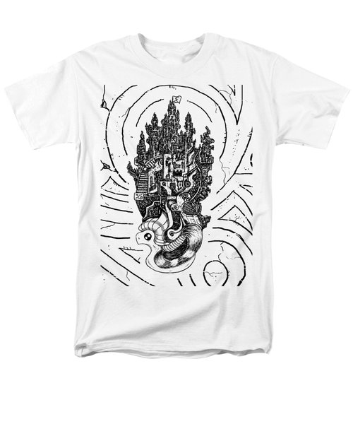 Flying Castle Men's T-Shirt  (Regular Fit) by Sotuland Art
