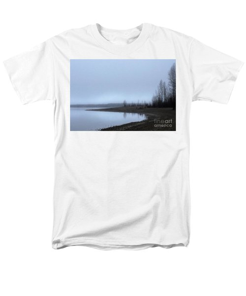 Men's T-Shirt  (Regular Fit) featuring the photograph Foggy Water by Victor K