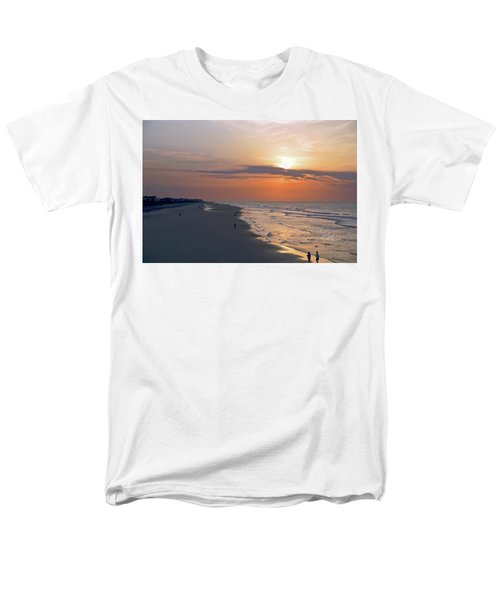 Folly Beach Sunrise Men's T-Shirt  (Regular Fit) by Meta Gatschenberger