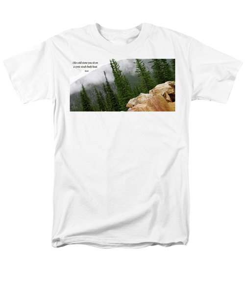 Men's T-Shirt  (Regular Fit) featuring the photograph Food For Thought by Rhonda McDougall