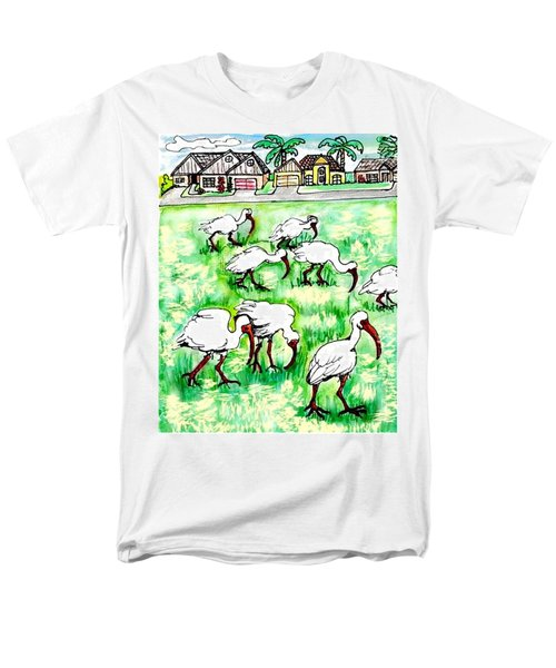 Foraging Ibis Men's T-Shirt  (Regular Fit)