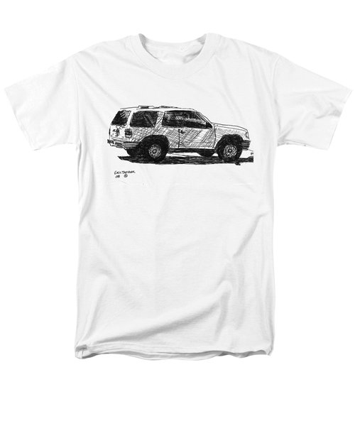 Ford Explorer Men's T-Shirt  (Regular Fit) by Eric Tressler