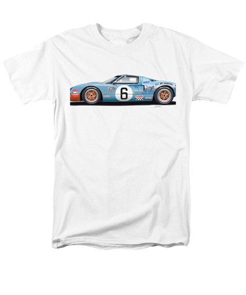 Ford Gt 40 1969 Men's T-Shirt  (Regular Fit) by Alain Jamar