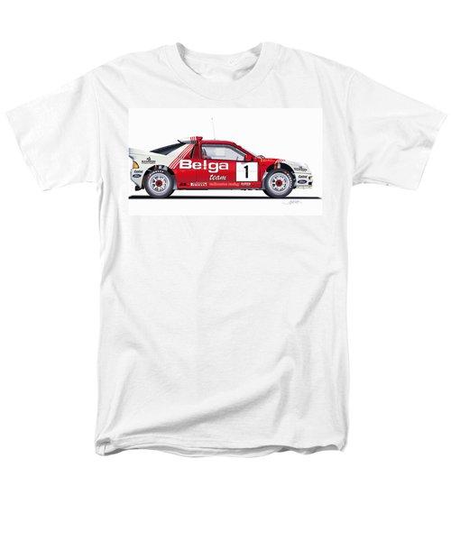 Ford Rs 200 Belga Team Illustration Men's T-Shirt  (Regular Fit) by Alain Jamar