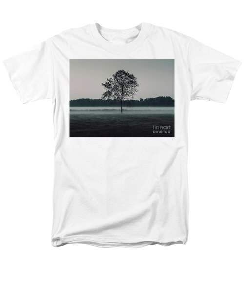 Men's T-Shirt  (Regular Fit) featuring the photograph Forest Fog by MGL Meiklejohn Graphics Licensing
