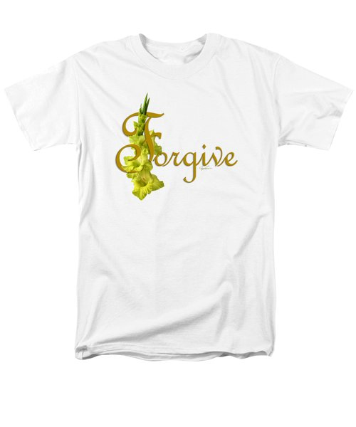 Forgive Men's T-Shirt  (Regular Fit) by Ann Lauwers