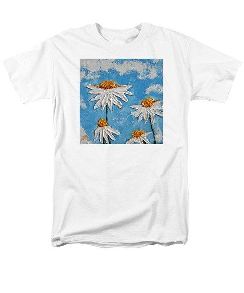 Four Daisies Men's T-Shirt  (Regular Fit)