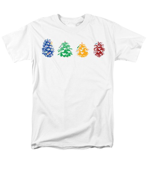 Four Pine Cones Men's T-Shirt  (Regular Fit) by Stan  Magnan