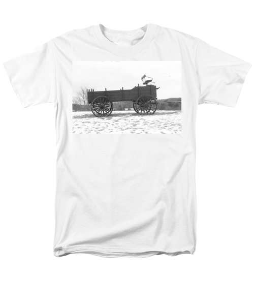 Men's T-Shirt  (Regular Fit) featuring the digital art Four Wheel Drive by Barbara S Nickerson