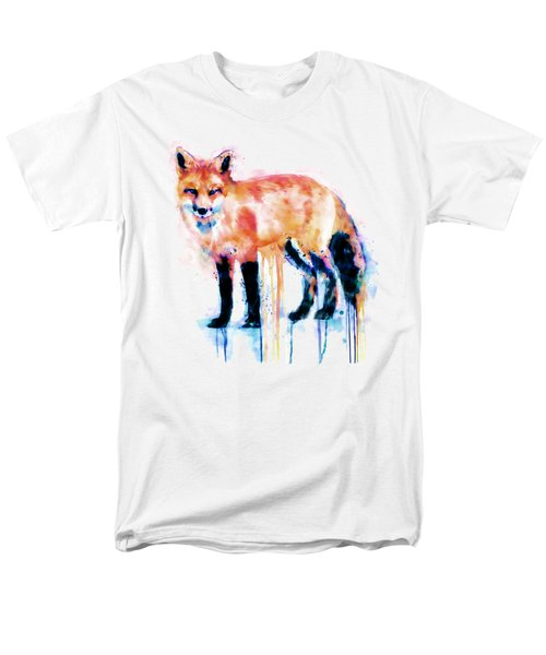 Fox  Men's T-Shirt  (Regular Fit) by Marian Voicu