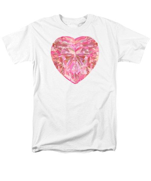 Fracked Heart Men's T-Shirt  (Regular Fit) by Stan  Magnan