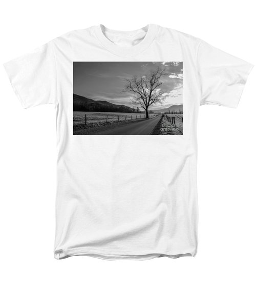 Frosty Morn Men's T-Shirt  (Regular Fit) by Marilyn Carlyle Greiner