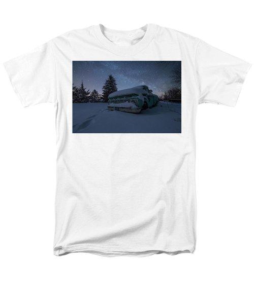 Men's T-Shirt  (Regular Fit) featuring the photograph Frozen Rust  by Aaron J Groen