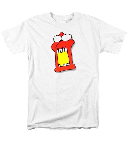 Fu Party People - Peep 104 Men's T-Shirt  (Regular Fit) by Dar Freeland