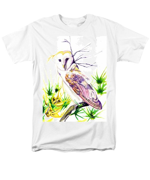 Men's T-Shirt  (Regular Fit) featuring the painting Furze Wisdom by D Renee Wilson