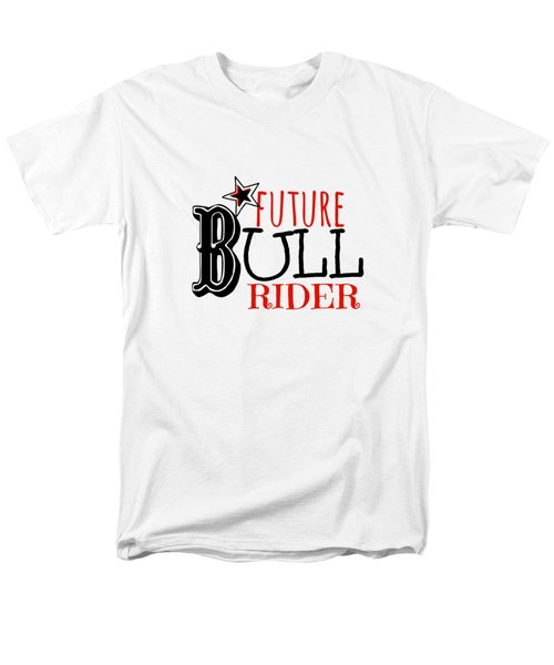 Future Bull Rider Men's T-Shirt  (Regular Fit) by Chastity Hoff
