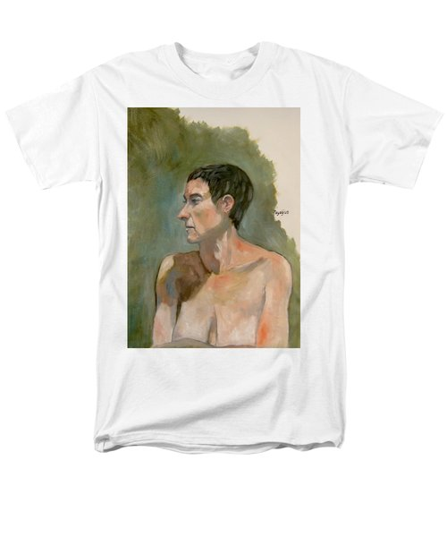 Gabrielle With Long Hair Men's T-Shirt  (Regular Fit) by Ray Agius