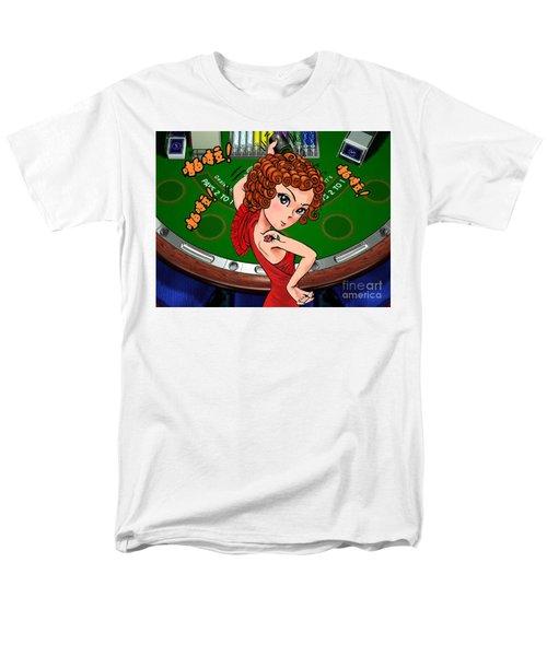 Gambling Men's T-Shirt  (Regular Fit)