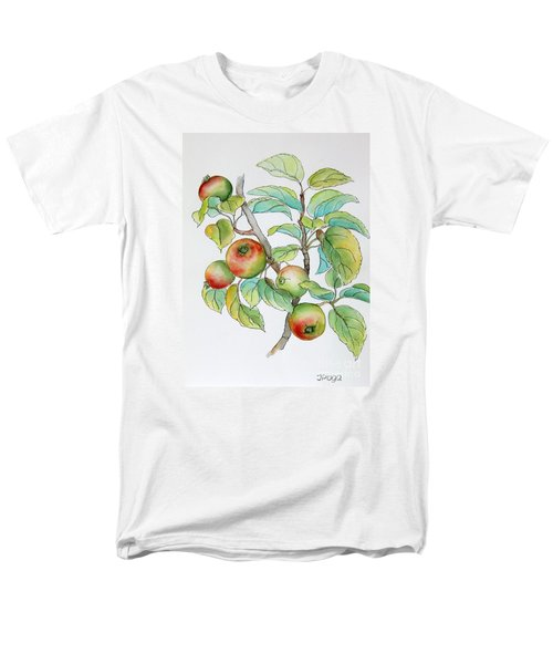 Garden Apples Sketch Men's T-Shirt  (Regular Fit) by Inese Poga