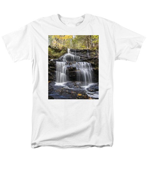 Men's T-Shirt  (Regular Fit) featuring the photograph Garwin Falls, Wilton, Nh by Betty Denise